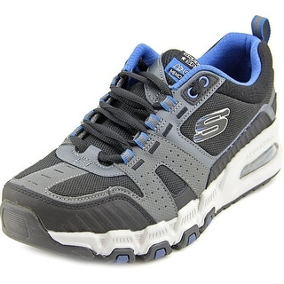 Skechers G-Force AIR Men Round Toe Synthetic Gray Sneakers