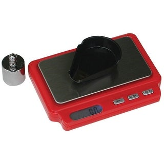 MTM Mini Digital Reloading Scale 2 AAA Batteries Red