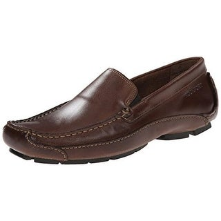 Rockport Mens Harmony Street Leather Slip On Loafers - 11.5 wide (e)