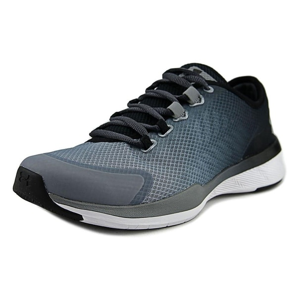 Under Armour Charged Push TR Women Round Toe Synthetic Gray Cross Training