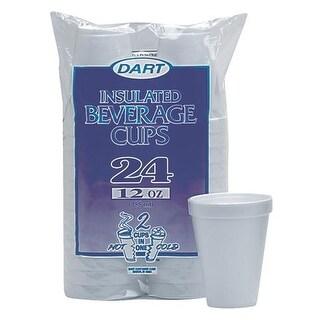 Dart Cont. 12Oz Foam Cups 12JP24 Unit: PKG Contains 12 per case