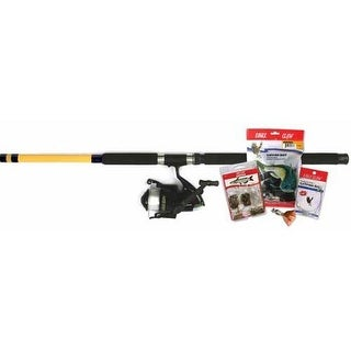 Eagle Claw Combo Catfish w/Kit 8' 2pc