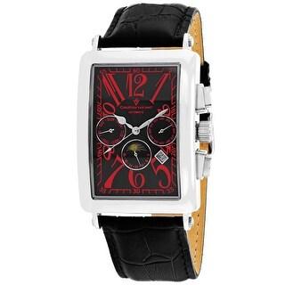 Christian Van Sant Men's Prodigy CV9134 Black Dial Watch