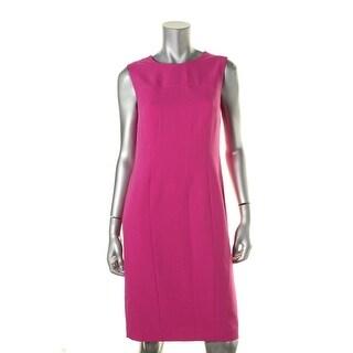 Kasper Womens Crepe Sleeveless Wear to Work Dress - 4