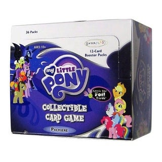 My Little Pony Collectible Card Game 12 Card Booster Packs - Case Of 36 Packs