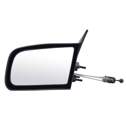 Pilot Automotive BK1209410-1L00 Black Driver Side Manual Remote Replacement Mirror for Buick 85-91/ Oldsmobile/ Pontiac