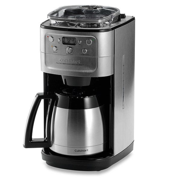 Cuisinart Coffee Maker 12 Cup Stainless Steel Programmable Brew Thermal Pot NEW