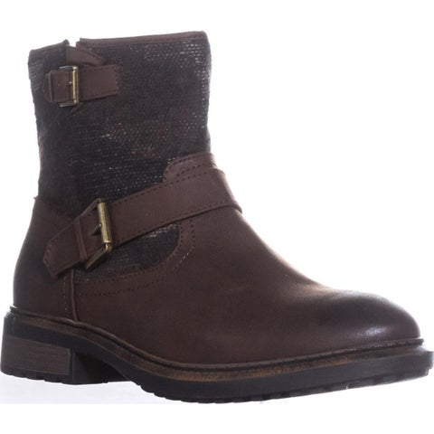White Mountain Carlin Motorcycle Boots, Tobacco