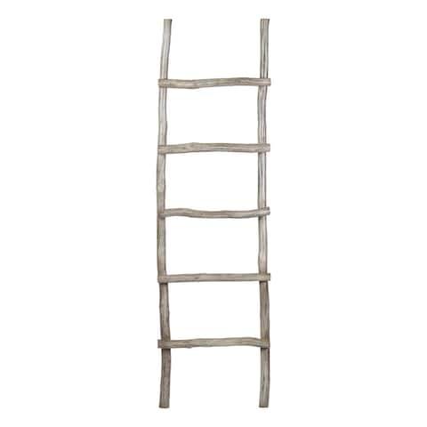 East At Main's Dalillah Wooden Decorative Ladder
