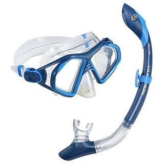 Us Diver Unisex Admiral Lx, Island Dry Premium Snorkeling Combo