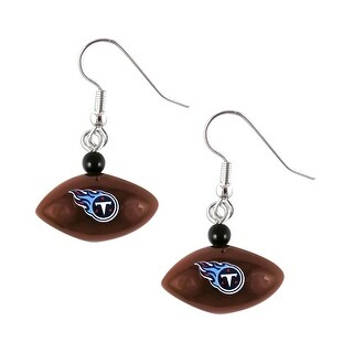 Tennessee Titans Mini Football Dangle Earring