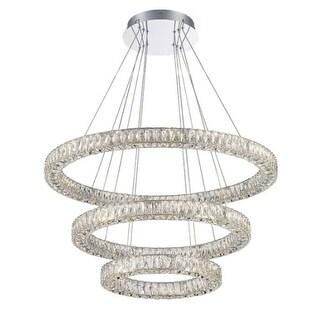 "Lumenno International 25930 Alize Single Light 32"" Wide Integrated LED Ring Chandelier"