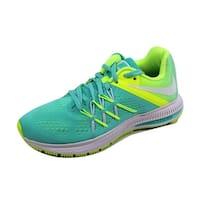 Shop Nike Women s Zoom Winflo 3  Orange Plastic Running Shoe - Free ... 5b4b64d00