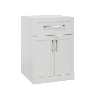 """NewAge Products Home Bar Series 24"""" 2 Door and Drawer Cabinet"""