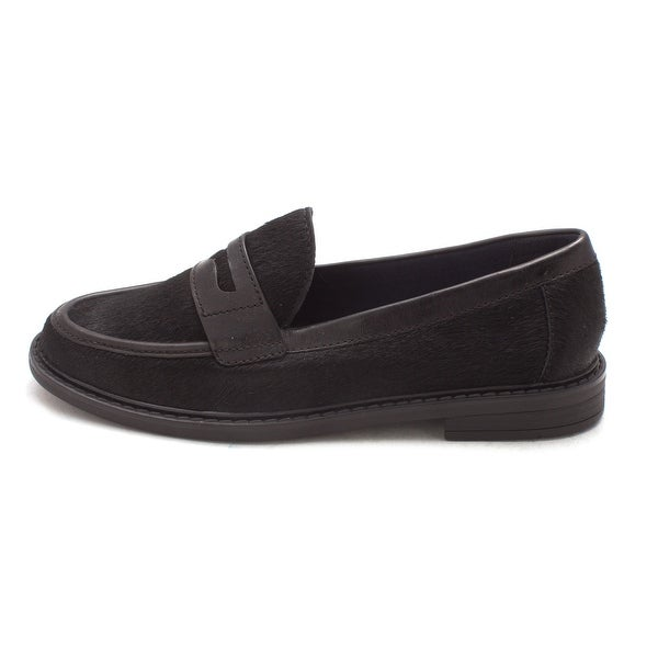 Cole Haan Womens Courtneysam Calf Hair Closed Toe Loafers