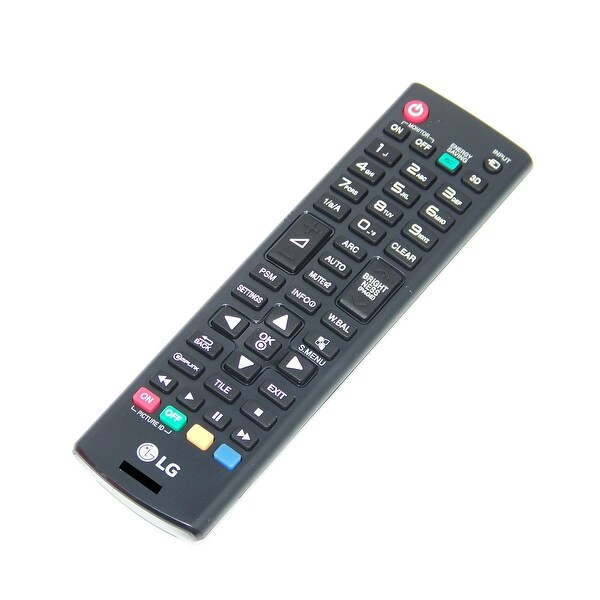 OEM LG Remote Control Originally Shipped With: 55LS33A5BC, 55LS33A5DC