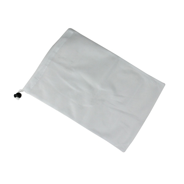"""14"""" White Replacement Bag for Jet Vacuums with Drawstring - N/A"""