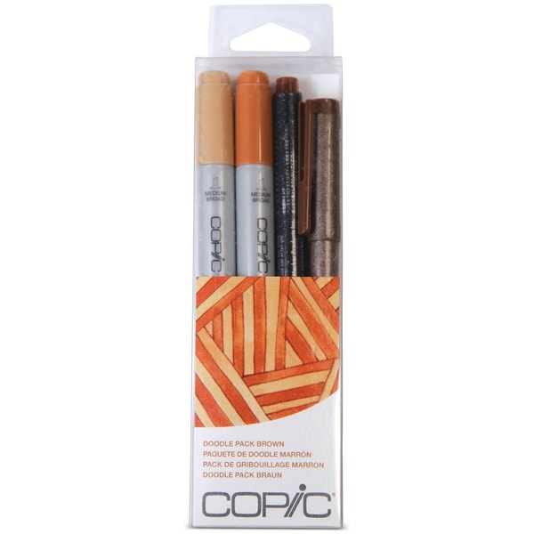Copic Doodle Pack-Brown - brown