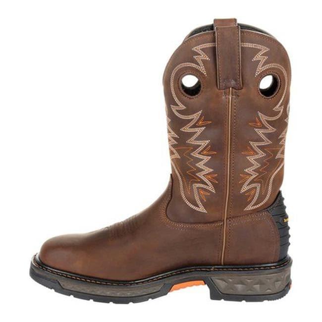 New Mens Georgia Carbo-Tec LT Back Zip Waterproof Wellington GB00263 Work Boots