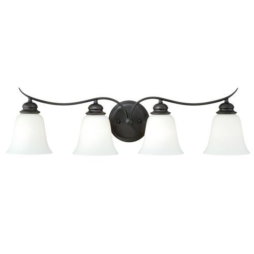 Vaxcel Lighting W0088 Darby 4 Light Bathroom Vanity Light   31 Inches Wide