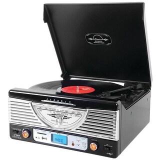 Home Bluetooth Retro Vintage Classic Style Turntable Vinyl Record