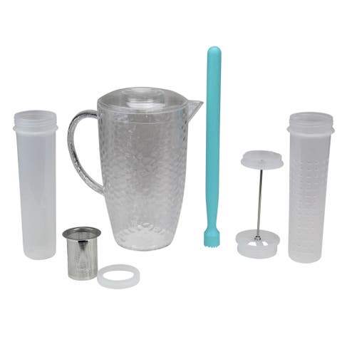 4 in one Flavor Infuser Pitcher 2 Liter - N/A