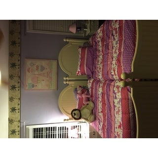 Unicorn Sky Mini Comforter Set with Decorative Pillow