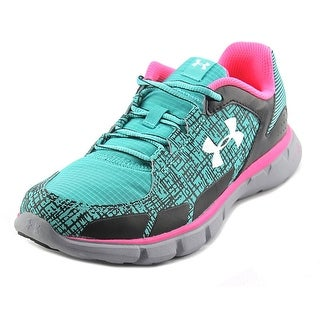 Under Armour GGS MicroG VelocityRN GRT Youth Round Toe Synthetic Multi Color