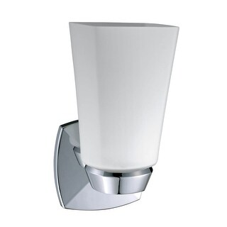 Gatco 1690 Jewel Single Light Bathroom Wall Sconce - Chrome