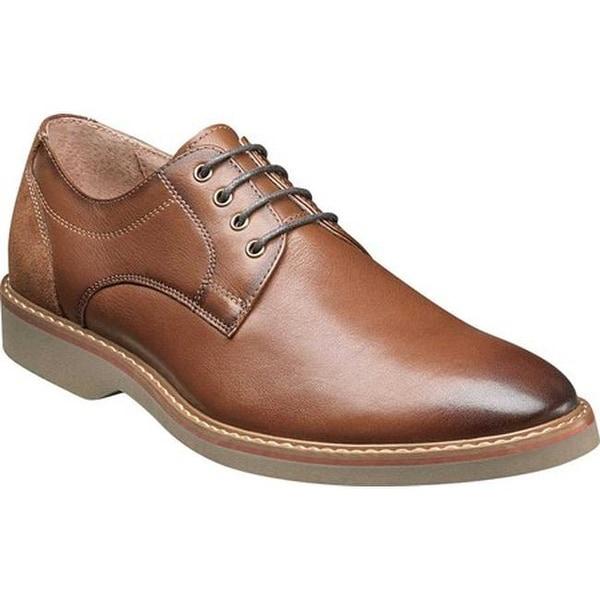 Florsheim Men's Union Plain Toe Oxford Saddle Tan Leather