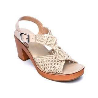 Latigo IKAT Women's Heels Sand