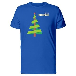 Simple Christmas Tree Tee Men's -Image by Shutterstock