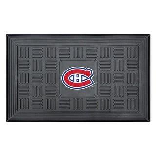 Montreal Canadiens Medallion Door Mat