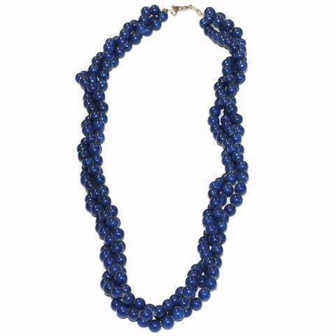 Handmade Tribal Beaded Necklace (Afghanistan)