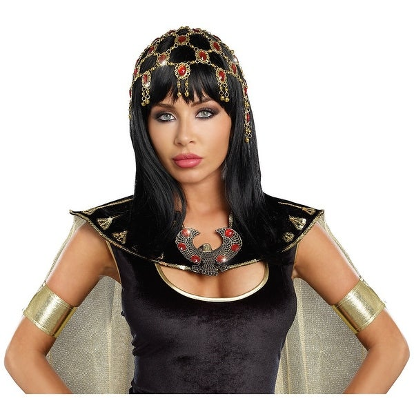 Dazzling Ruby Headpiece Adult Costume Accessory