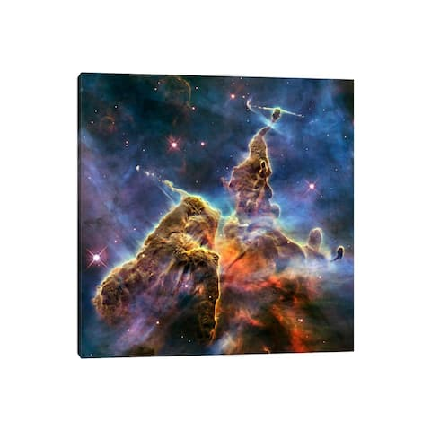 "iCanvas ""Mystic Mountain in Carina Nebula II (Hubble Space Telescope)"" by NASA Canvas Print"