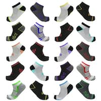 Multi-Pack TruFit Men's Low-Cut Performance Socks