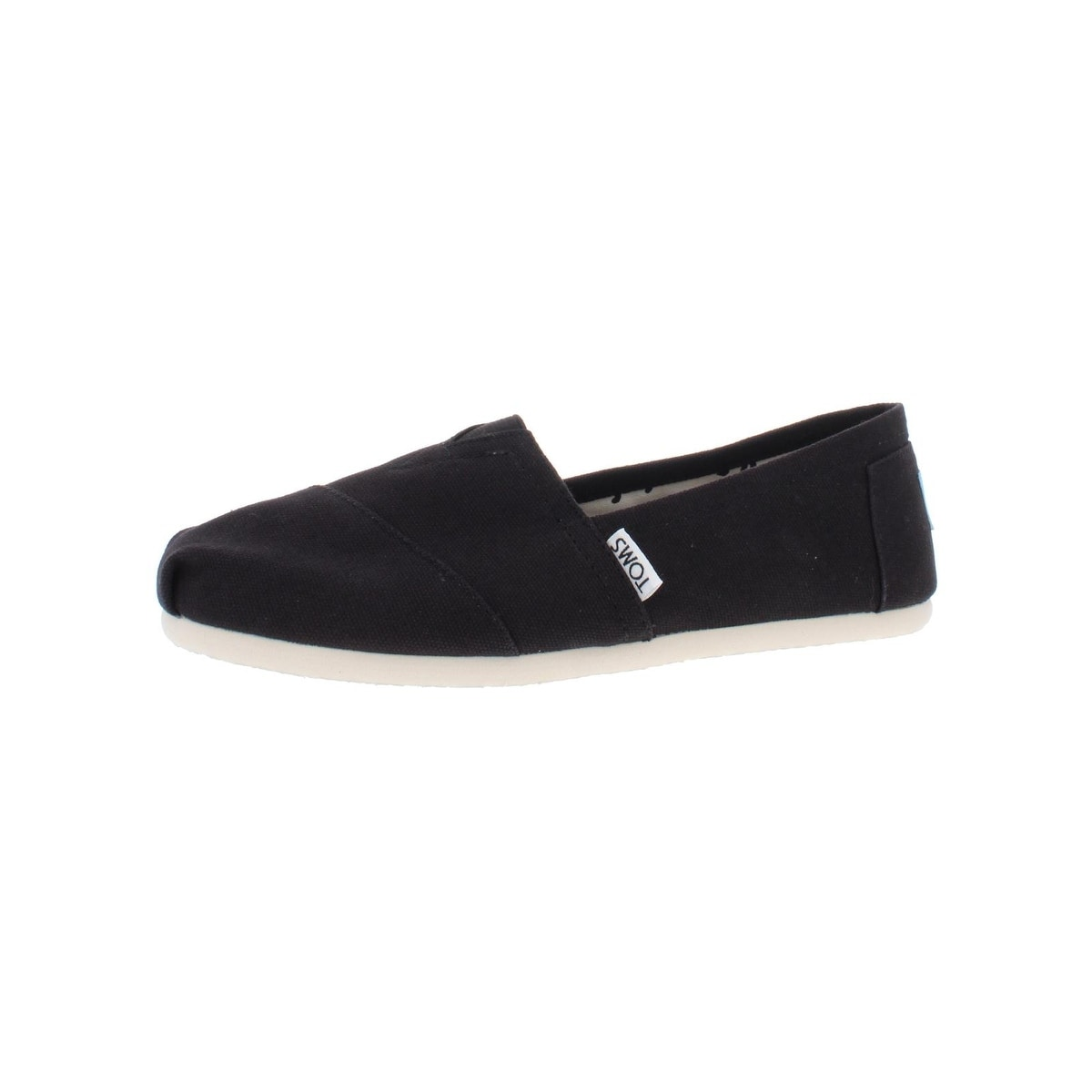 Peace fist logo Classic Women Canvas Slip-Ons Loafer Shoes Sneaker