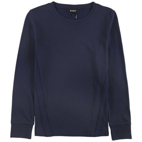 Dkny Womens Solid Sweatshirt