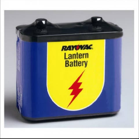 Rayovac 918 General Purpose Lantern Battery, 6V