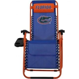 Comfy Feet FLOZGC Florida Gators Synthetic Fabric Zero Gravity Chair