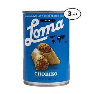 Loma Linda Blue Chorizo 15 Oz Pack Of 3