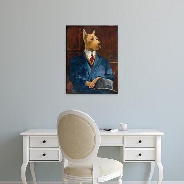 Easy Art Prints Avery Tillmon's 'Inspector Dogleash' Premium Canvas Art