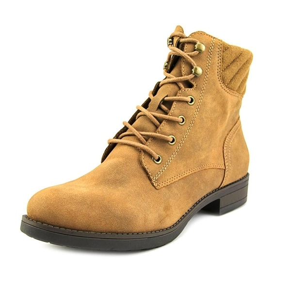 American Rag Swidler Women  Round Toe Synthetic Tan Ankle Boot
