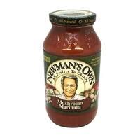 Newman's Own Marinara Pasta Sauce - Mushrooms - Case of 12 - 24 Fl oz.