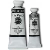Da Vinci DAV251F 15ml Watercolor Paint - Lamp Black