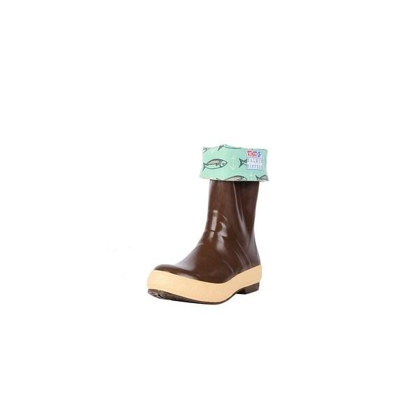 "Xtratuf Womens 12"" Salmon Sister Legacy Boots w/ Chevron Outsole - Size 10"