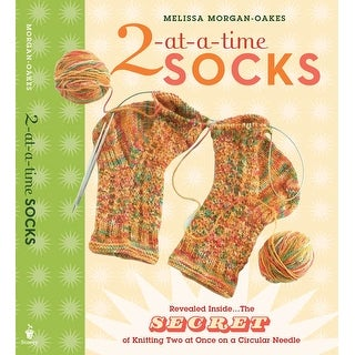 Storey Publishing-2-At-A-Time Socks