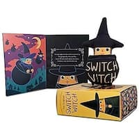 Switch Witch Magical Tradition Halloween, Orange & Black