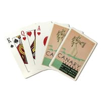 Canary Islands (Moline) 1930 - Vintage Ad (Poker Playing Cards Deck)